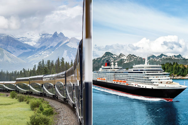 Cunard Partners With Rocky Mountaineer