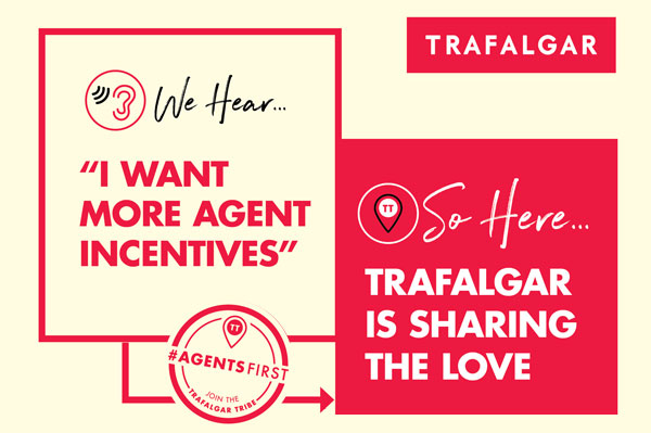 Trafalgar Shares The Love With Agents