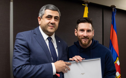 Messi gets WTO appointment