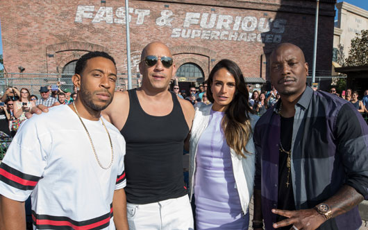 Fast & Furious at Universal!