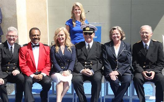 Princess, Love Boat cast honoured