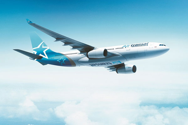 Air Transat Increases Its Presence in France, Belgium