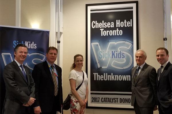 Chelsea Hotel Joins SickKids VS Limits Campaign