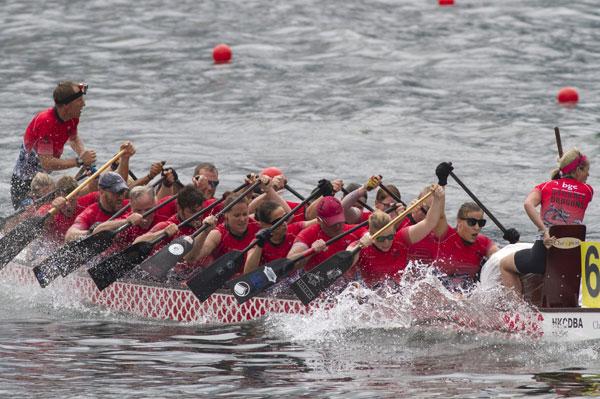 Hong Kong Gets Ready To Paddle
