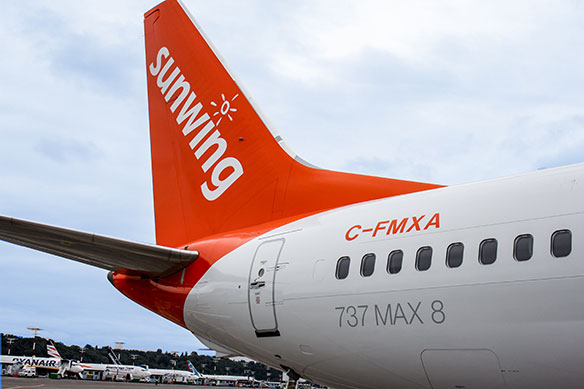 Sunwing takes passenger comfort to new heights