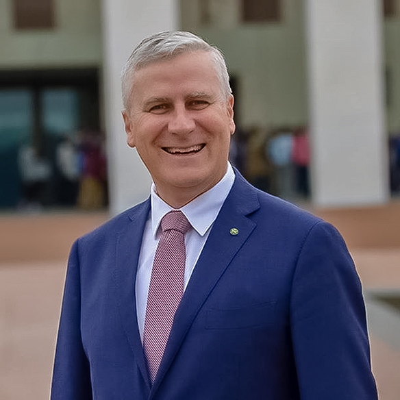 Autralia's Minister of Infrastructure and Transportation, Michael McCormack