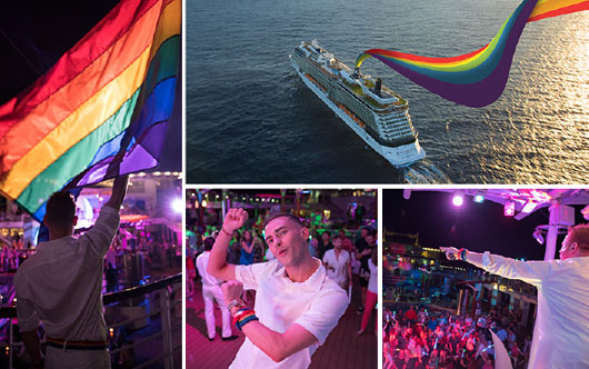 Celebrity hosts Pride Party at Sea