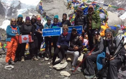 Maritime agents conquer Mount Everest Base Camp
