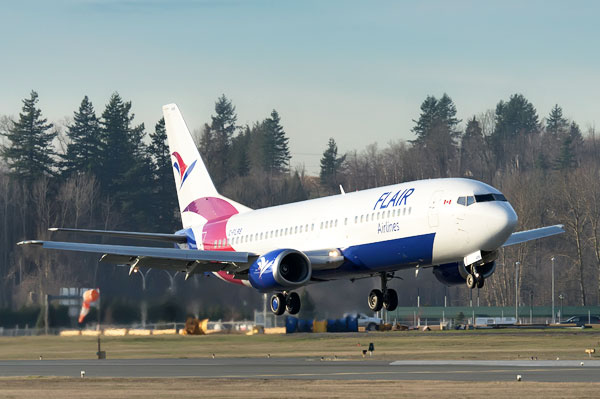 New Home For Flair Airlines