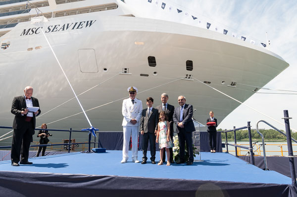 MSC Takes Delivery of Seaview