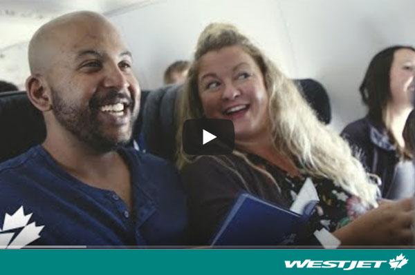 WestJet Releases #WestJetSeatCity Video