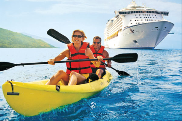 Fly free to San Juan and cruise with ACV