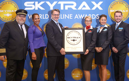 Air Transat honoured