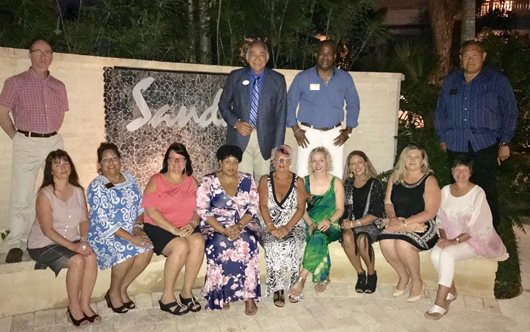 Sandals hosts agents in Barbados