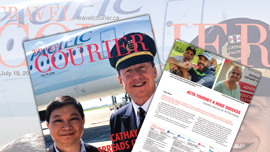 Cathay Pacific Spreads Its Wings