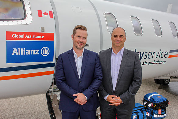 Allianz helping get ailing Canadians home in 'flying ICU'