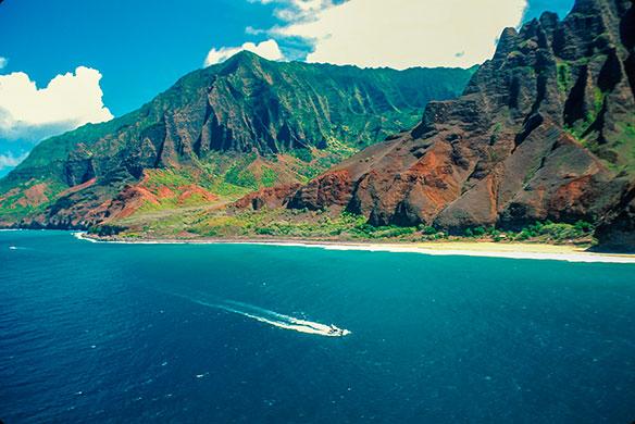 The Hawai'ian Islands  – distinctly different
