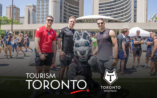 Wolfpack teams up with Tourism Toronto