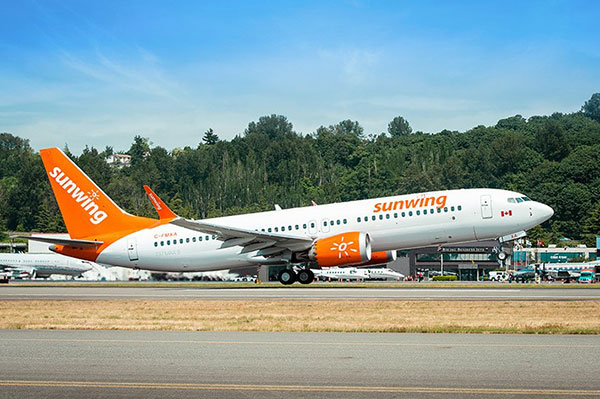 Sunwing Updates Operational Changes