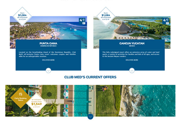 Club Med Introduces 'I-frame' agency tool