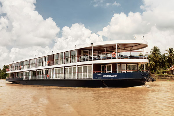 Avalon Saigon Sets Sail On The Mekong
