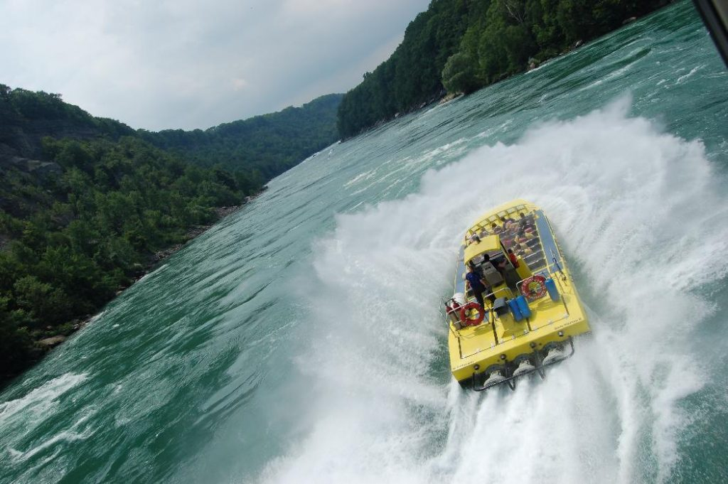 Soaking It Up With Whirlpool JetBoat Tours