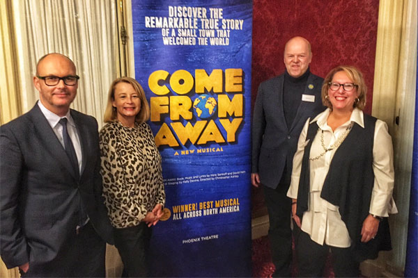 London Is Calling Come From Away