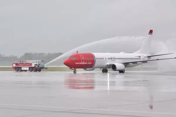 Norwegian takes off in Canada
