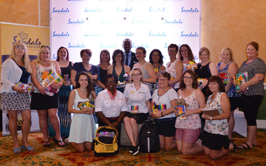 Agents discover Jamaica with Sandals