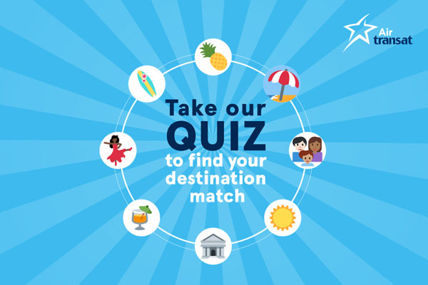 Take The Transat Quiz, Find Your Perfect Vacation Spot