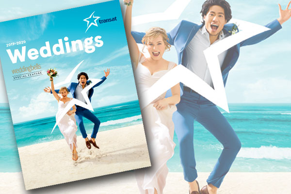 Transat unveils 2019-2020 Weddings brochure
