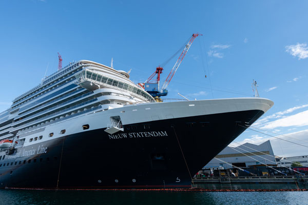 HAL Takes Delivery of Nieuw Statendam
