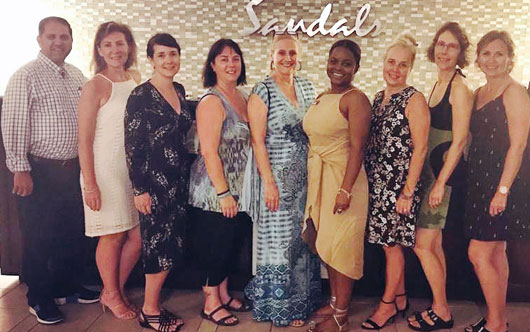 Sandals hosts Travel Agent Next Door agents
