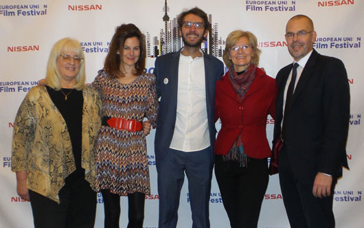 Ambassador attends EUFF closing reception