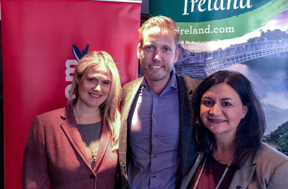 Norwegian celebrates upcoming Hamilton-Dublin service