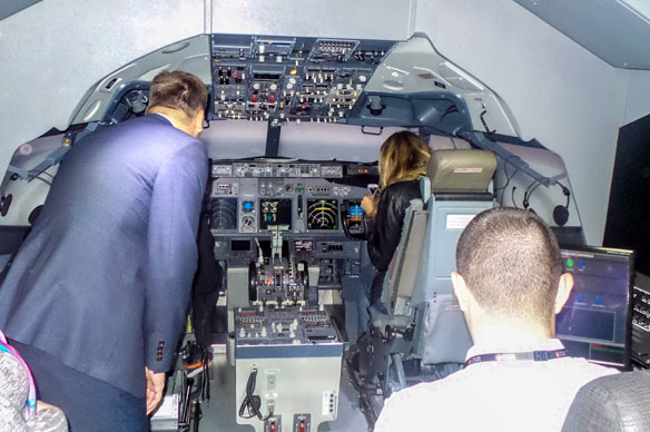 Turkish Airlines using technology to put trainees in the pilot's seat