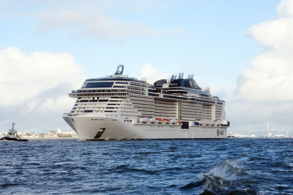 MSC Bellissima Completing Sea Trials - TravelPress