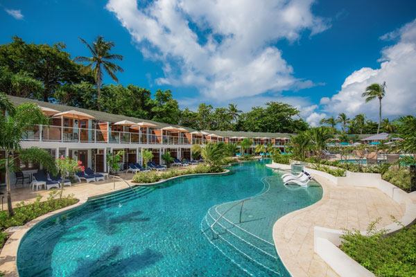 New Luxury Rooms At Sandals Halcyon Beach