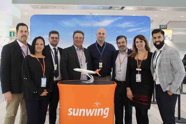 Sunwing Partners With Menzies Aviation