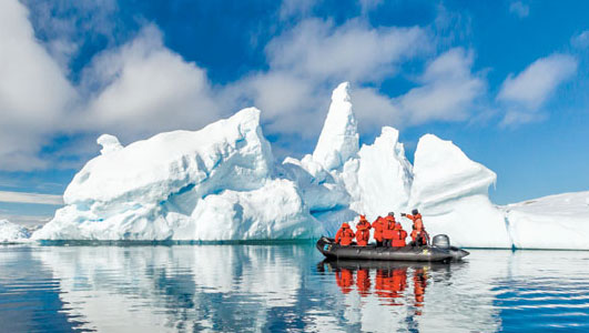 Lindblad Launches Epic Antarctica Journey