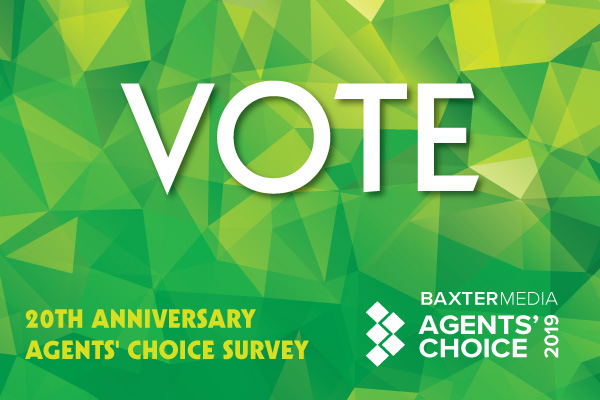 Agents' Choice 2019 – Have You Voted Yet?