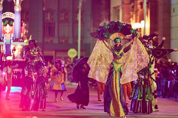 Universal's Mardi Gras Fun Kicks Off This Weekend