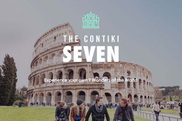 Contiki Kicks Off 'Contiki SEVEN' Campaign