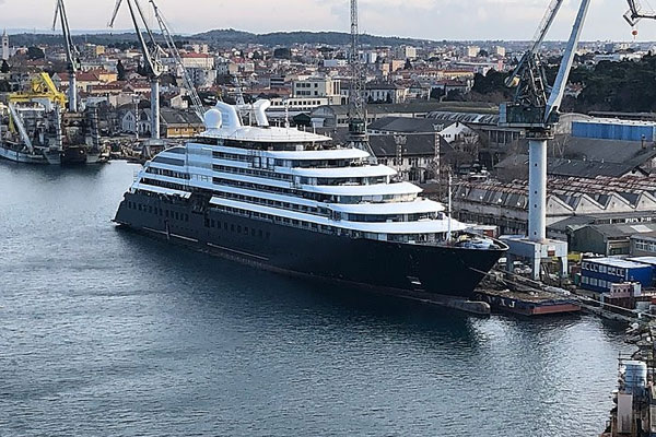 Shipyard Issues Delay Scenic Eclipse Launch