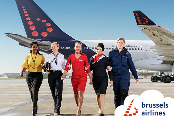 Brussels Airlines marks International Women's Day