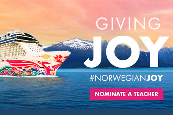 NCL Wants To Give 'Joy' to Top Educators