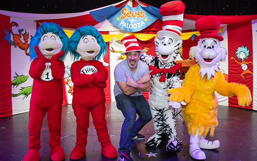 Carnival marks Dr. Seuss's 115th birthday