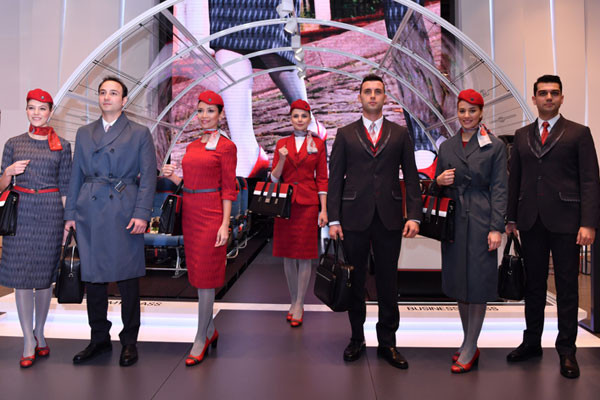 Turkish Airlines unveils new cabin uniforms
