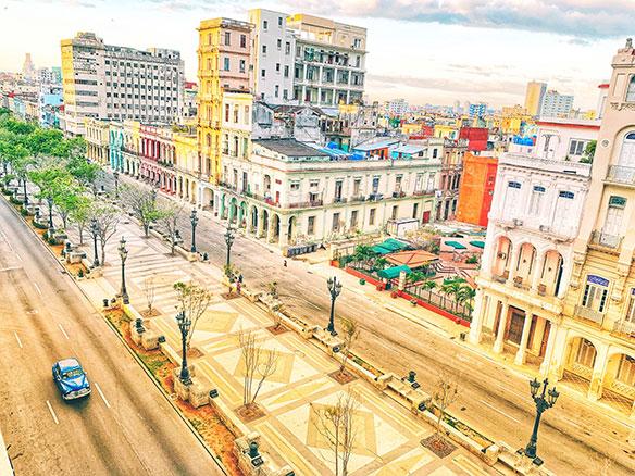 In the heart of Havana