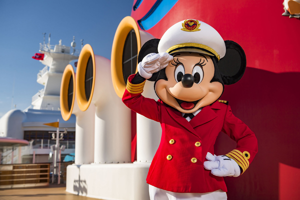 Minnie Inspires Next Gen of Female Ship Captains